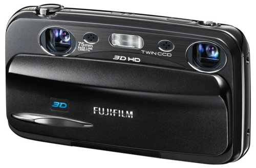 FujifilmFinePixREAL3DW3,aporelvídeoenaltadefiniciónen3D