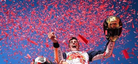 Big 6! El cuarto título de MotoGP de Marc Márquez resumido en cinco vídeos y 50 fotos