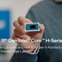 Nuevos procesadores Intel serie H de 11ª generación: juegos con gráficos hasta en 4K en portátiles ultradelgadas