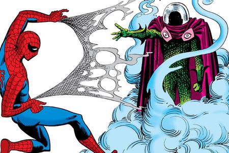 Perfil Mysterio Villano Spider Man Marvel Comics Cover V2