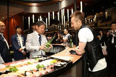 Comida japonesa en el Mundial de Brasil 2014