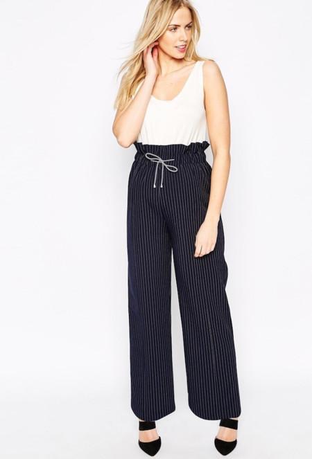 Pantalones Premama Asos Rayas
