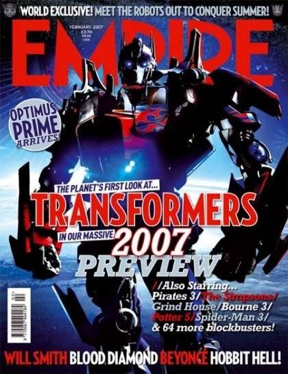 Optimus Prime desvelado