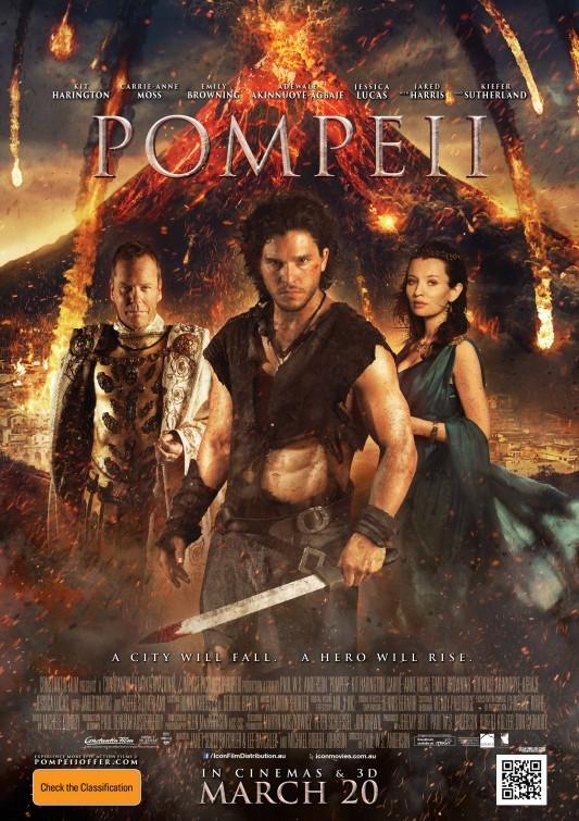 Foto de Carteles de la película 'Pompeya' (5/6)