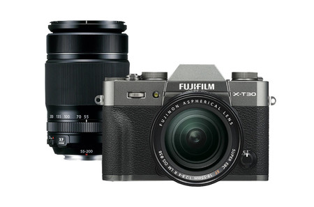 Fujifilm X T30 Doble Lente Antracita