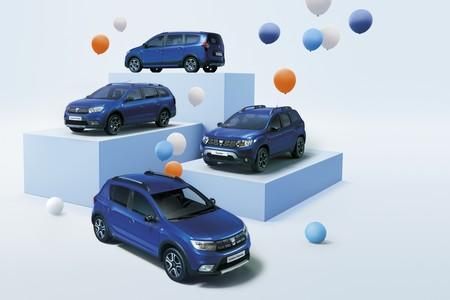 Dacia Sandero, Logan MCV, Duster y Lodgy Aniversario: más equipamiento a precio ajustado para celebrar sus 15 años en Europa