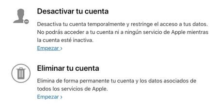Cómo desactivar o eliminar tu Apple ID con las nuevas herramientas ... eb70444a11e71