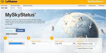 MySkyStatus: servicio de Lufthansa que informa a través de las redes sociales