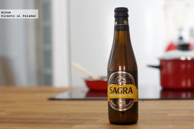 Cerveza sagra belgian white - 1