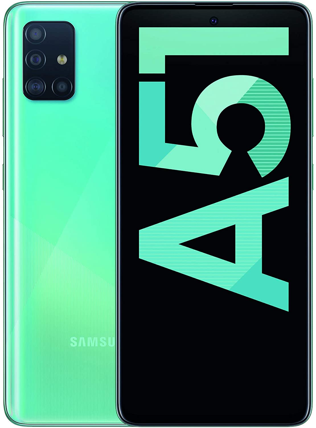 "Samsung Galaxy A51 - Dual SIM, 6.5 Smartphone"" Super AMOLED (4 GB RAM, 128 GB ROM, 48.0 MP + 12.0 MP + 5.0 MP + 5 MP Rear camera, 32 MP Front camera) Blue [Versión española]"