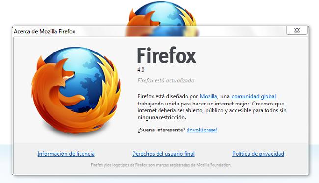 Firefox lanza la RC1, cada vez menos para la versión final