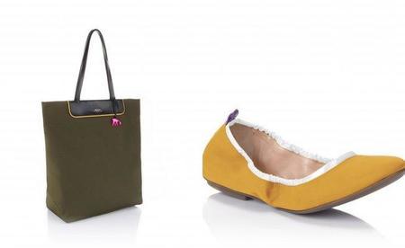 Nuevas combinaciones Bally de bailarinas y bolso hobo para el Verano-2011