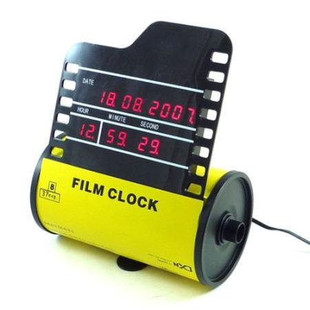 Roll film clock, un reloj para fotógrafos
