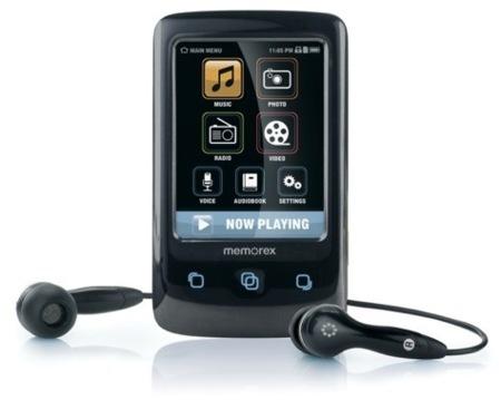 Memorex TouchMP, con pantalla táctil