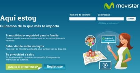 Movistar lanza 'Aqui Estoy', un servicio para geolocalizar móviles