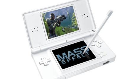 BioWare considera llevar 'Mass Effect' a Nintendo DS