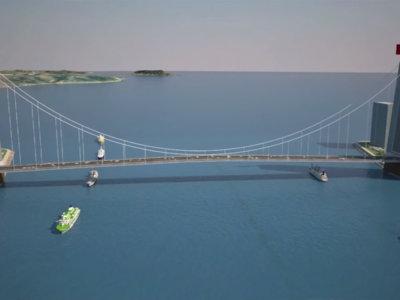 Este hombre quiere construir una presa-puente en el estrecho de Gibraltar, y no es el primero