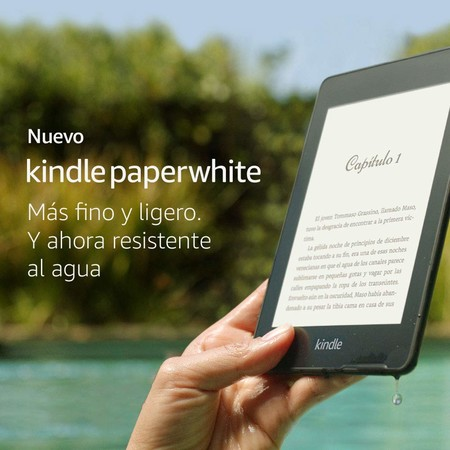 Kindle Paperwhite, resistente al agua, en oferta por 99,99 euros en el Black Friday de Amazon