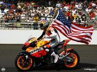 Hayden vuelve a Indianápolis para dar una vuelta de exhibición