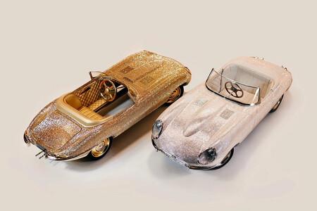 Jaguar E Type Hal Scale Cars Cristales Swarovsky 3