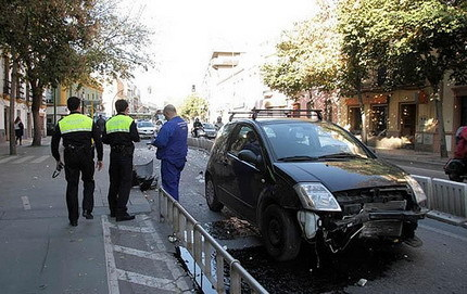 Accidentes carril bus Sevilla