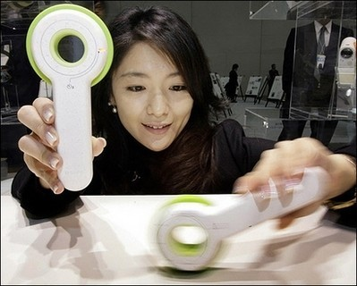 Twirl N' Take, cámara de fotos de Sony que se alimenta dándole vueltas