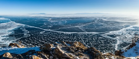Panorama Of Lake Baikal