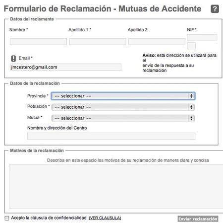 formulario bajas