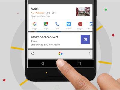 Google promociona las ventajas de Now on Tap con este instructivo anuncio