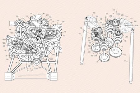 Harley Davidson Patente