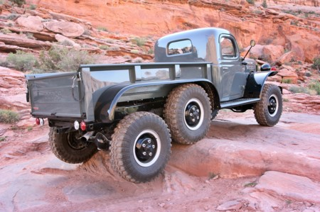 1942 Dodge Power Wagon 6x6 Moab Rear Three Quarter2