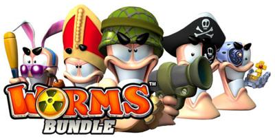Las lombrices vuelven a la carga gracias al Worms Bundle