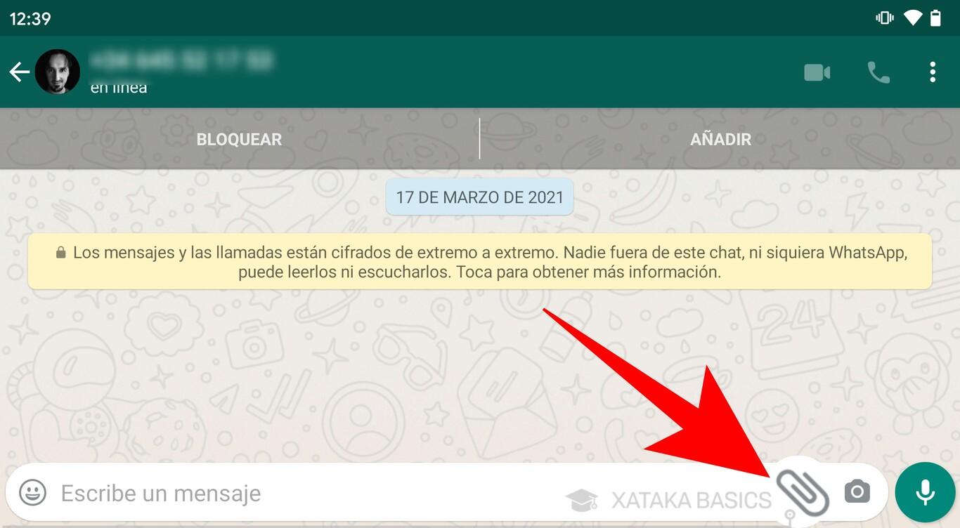 Enviar videos por whatsapp