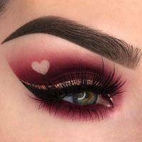 Instagram se llena de maquillajes con mucho corazón para San Valentín