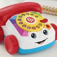 """El legendario teléfono de juguete de Fisher Price ahora es """"de verdad"""": permite hacer llamadas por Bluetooth y se carga"""
