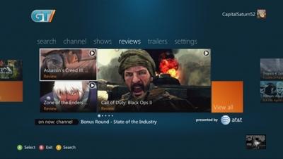 GameTrailers llega a nuestras teles a través de la Xbox 360