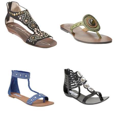 Las sandalias, una nueva prenda de joyería