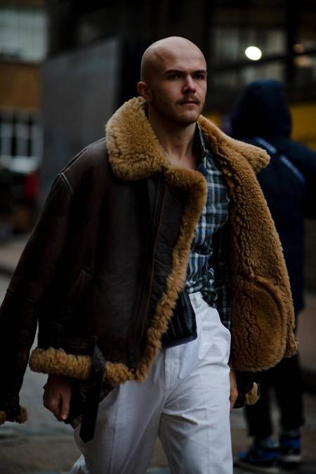 El Mejor Street Style De La Semana Chaqueta Abrigo Borreguillo Shearling Jacket 03
