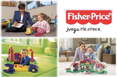 Fisher Price ofrece consejos para elegir los juguetes