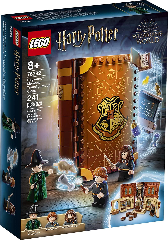 LEGO Kit de construcción Harry Potter - Clase de Transfiguración (240 Piezas)