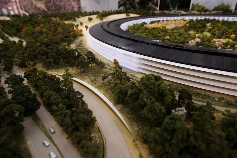 Foto de Maqueta del Campus 2 de Apple (19/22)