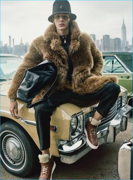 Coach muestra su veta mas trendy para la colección menswear fall-winter 2016
