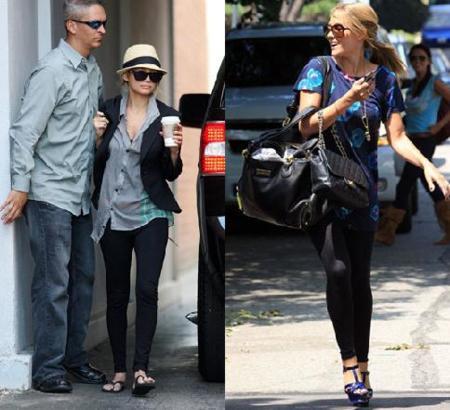 Nicole Richie y Lauren Conrad siguen apostando por los leggins ¿te apuntas o te plantas?