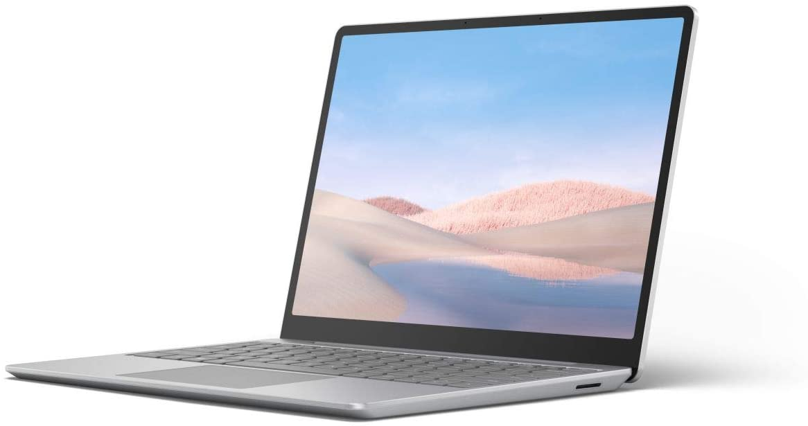 Microsoft Surface Laptop Go con pantalla táctil de 12.4 pulgadas, Intel Core i5, Memoria RAM 8GB y 128GB disco estado solido (Plata)