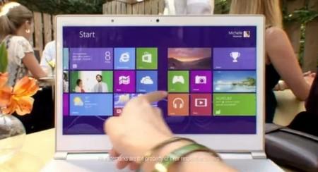 Microsoft publicó primer comercial de Windows 8