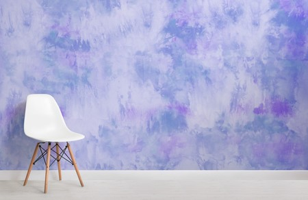 Papel Pintado Tie Dye Morado Chair Web