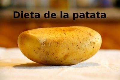 Dieta de la patata. Análisis de dietas milagro (XXXVIII)