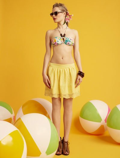 Estampado color Blanco, lookbook Verano 2011