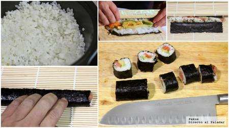 Sushi Facil Pasos