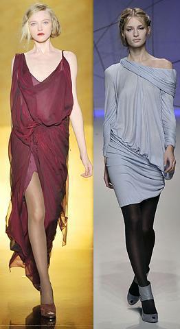 vestidos drapreados